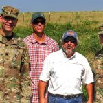 US Army Brig. General Hill and Lt. Colonel Morgan visit RiverBank's Mill Branch Mitigation Bank